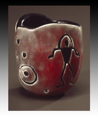 Petroglyph Pinch Pot