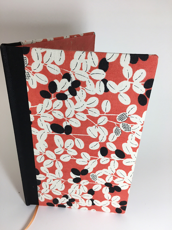 Coral handmade journal