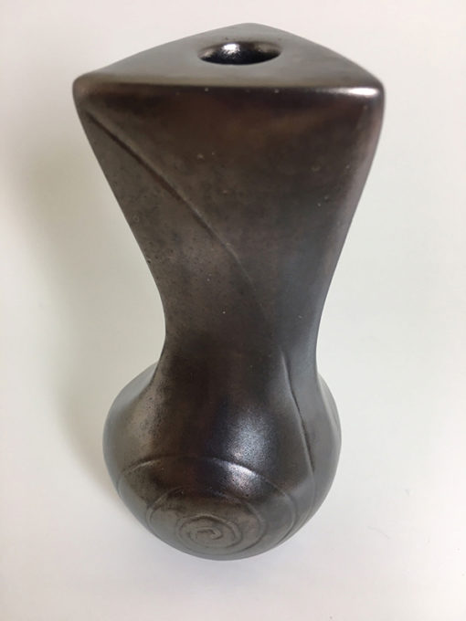 bronze spiral pottery